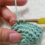 細編みを綺麗に編むコツ